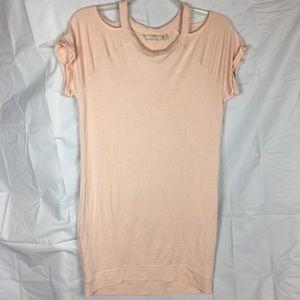 Athleta Shala dress pink modal medium